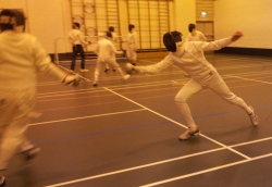 Fencing Epee at Fencexercise Wirral